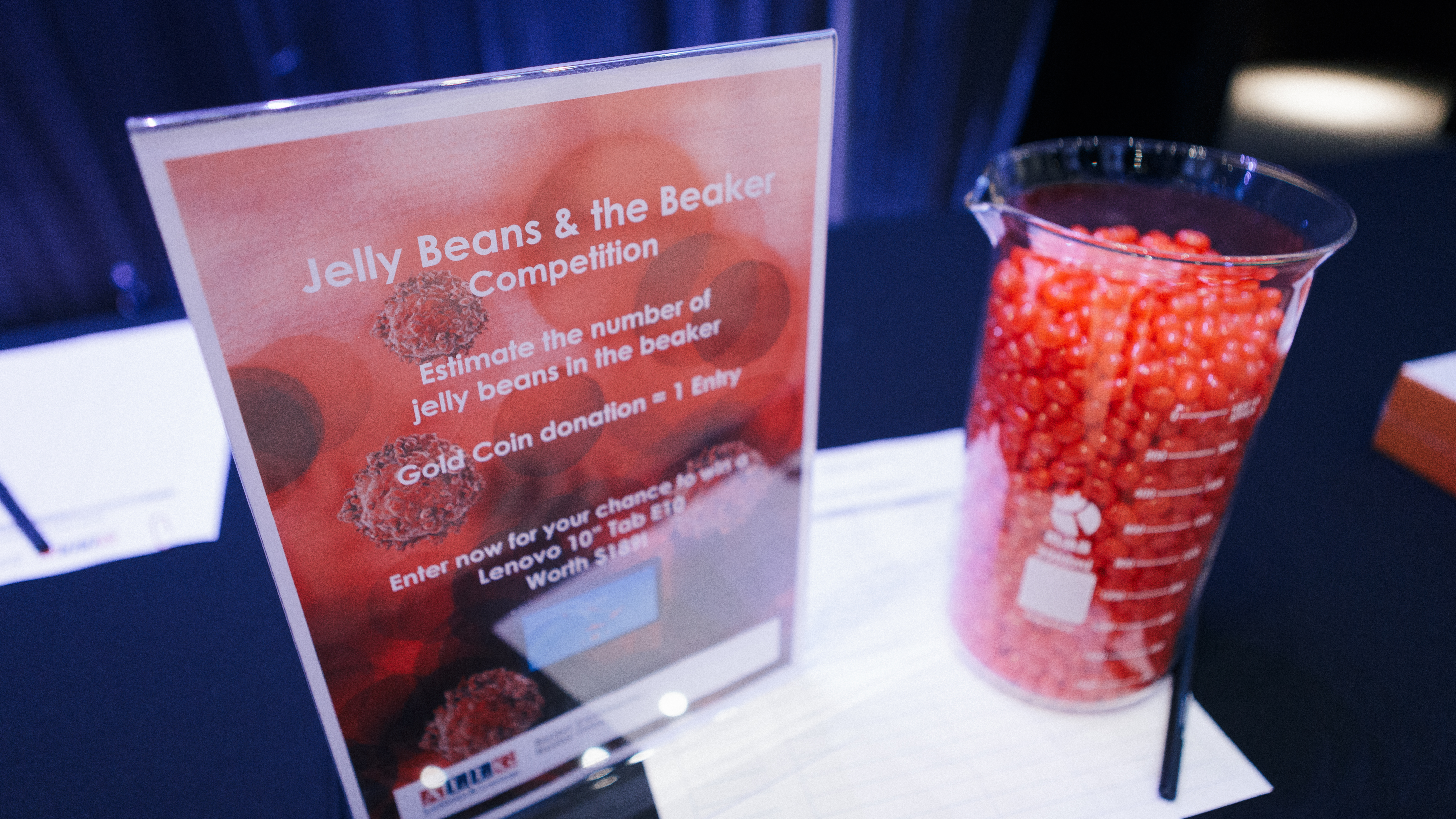 Jelly Beans in the Beaker Competition